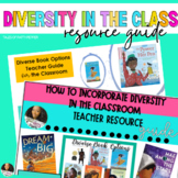 Incorporating Diversity in the Classroom K-6   Teacher Res