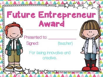 Editable End of Year Awards | 30 Future Themed Awards