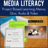 Diverse Media:  Project Based Learning with Menus, Text, A