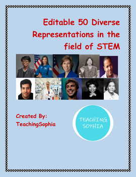 Diverse Representation in STEM