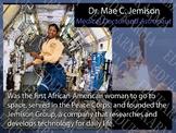 """Diverse Scientists Printable 12"""" x 16"""" Poster - Dr. Mae C. Jemison"""