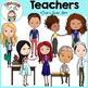 Diverse Teachers Clip Art