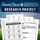 Diverse Voices in Sports: Research Project for Physical Education/Gym Class