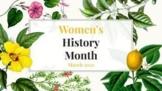 Diverse Women's History 2022 FULL Month Biography Presentation - BLM, LGBTQ+