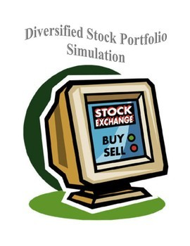 Diversified Stock Portfolio Simulation