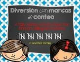 Diversión con marcas de conteo – Tally Mark Activities for Bilingual Students