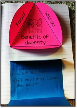 Diversity Health Interactive Notebook