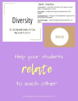 Teaching Kids about Diversity: Activities
