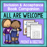 Diversity And Inclusion Activities For The Book All Are Welcome- Print & Digital