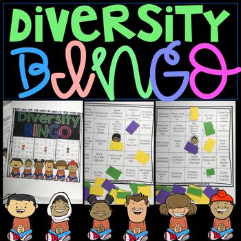 Diversity bingo teaching resources teachers pay teachers bingo with inclusion and diversity bingo with inclusion and diversity maxwellsz