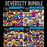 Diversity Bundle: Growing Bundle {Creative Clips Clipart}