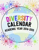 Diversity Calendar - Academic Year 2014-2015