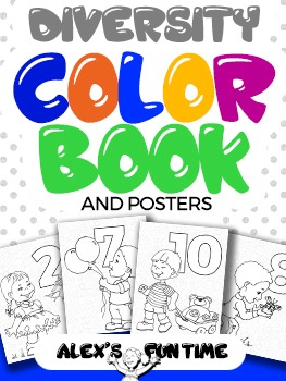 Diversity Coloring Book & Posters