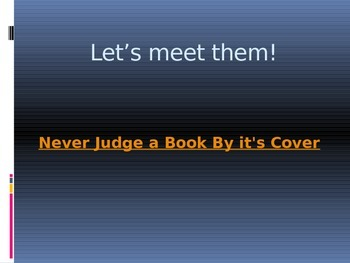 Diversity: Don't Judge a Book by it's Cover