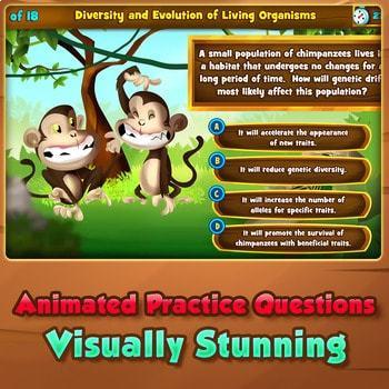 Diversity & Evolution of Living Organisms - Quiz Game Warm-Up