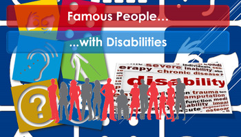 Diversity: Famous people with disabilities