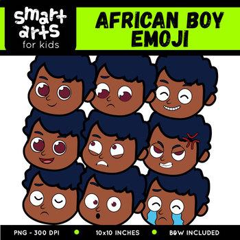 Diversity Kids Emoji Clip Arts COLOSSAL Bundle