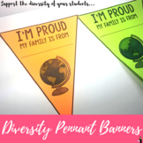 Diversity Pennant Banners FREEBIE