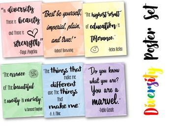 graphic relating to Classroom Signs Printable named Variety Poster Preset: printable motivational posters