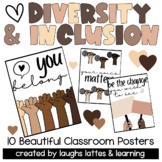 8 Diversity Posters to Create an Inclusive, Welcoming and Kind Classroom!