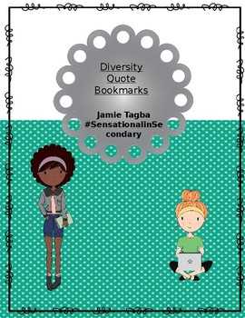 Diversity Quote Bookmarks