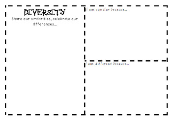 Diversity Reflection Template