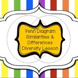 Character Ed Lesson - Using Venn Diagrams to Explore Diversity