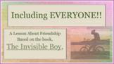 Invisible Boy Diversity Tolerance Exclusion Bulling SEL LESSON 6 video PBIS MTSS