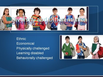 Diversity and Differentiation Professional development and