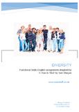 Diversity for Functional Skills English