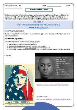 Diversity in Media Project (stereotypes)