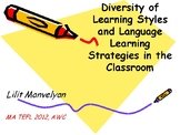 PPT-Diversity of Learning Styles & Language Learning Strat