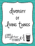 Diversity of Living Things (Invertebrates/Vertebrates)