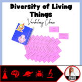 "Diversity of Living Things Warm-Up Game: ""I have, who has?"