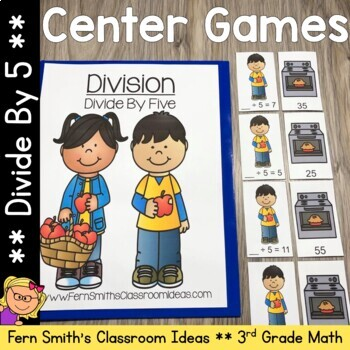Divide By Five Division Center Games