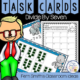 3rd Grade Go Math Chapter Seven 7.7 Divide By Seven Task Cards