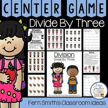 Divide By Three Division Center Games