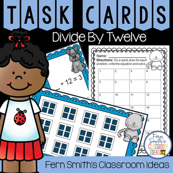 Divide By Twelve Task Cards
