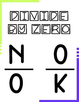 Divide By Zero Poster