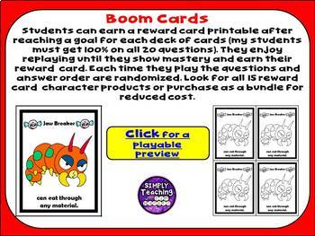 Divide Decimals by Multiples of 10 Digital Boom Cards Eukeka grade 5 Module 2
