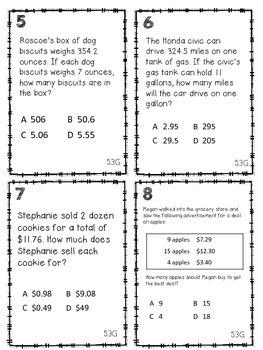 Divide Decimals with Standard Algorithm TEKS 5.3G