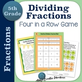 Dividing Fractions Game Differentiated Partner Game