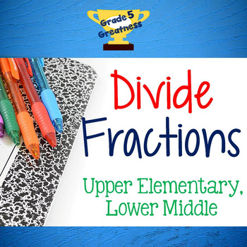 Divide Fractions Activities