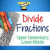 Divide Fractions Activities