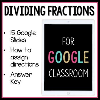 Divide Fractions Digital Activities