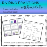 Divide Fractions Using Area Models Lesson