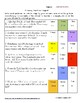 Divide Fractions Word Problem Differentiated Color by Answer Fun Pages