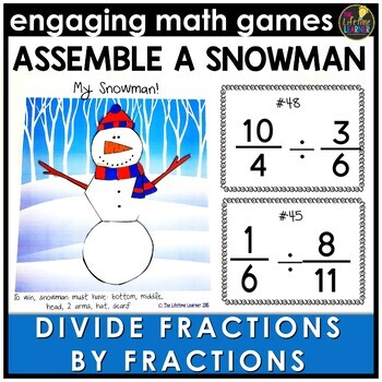 Divide Fractions by Fractions Game
