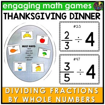 Divide Fractions by Whole Numbers Game