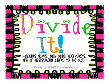 Divide It! Division Unit aligned to the CCCS